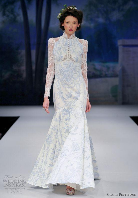 claire pettibone wedding dress spring 2012