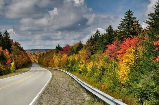 Highland Scenic Highway in West Virginia by Ed Rehbein Photography