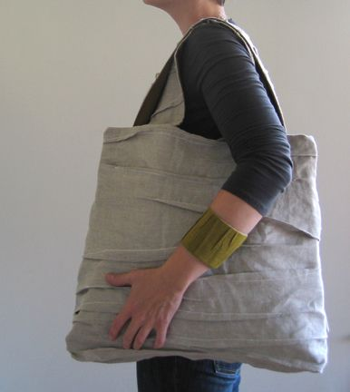 fold bag by Martha W McQuade, via Flickr