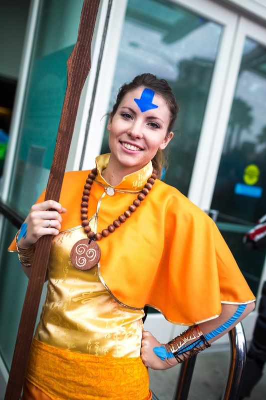 Female Ang from The Last Airbender