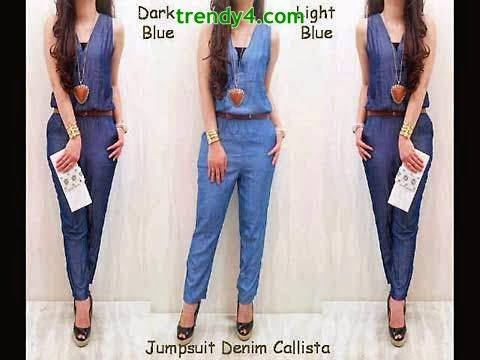 Jumpsuit Trend Clothes For Summer 2014