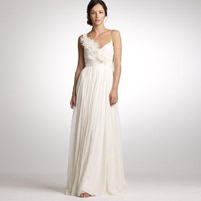 JCrew Wedding dress.