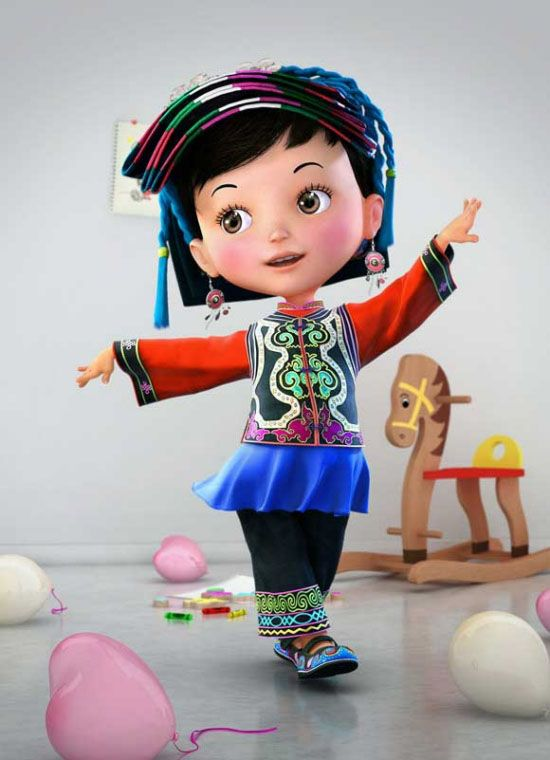 50 Funny and Beautiful 3D Cartoon Character Designs for your inspiration. Follow us www.pinterest.com...