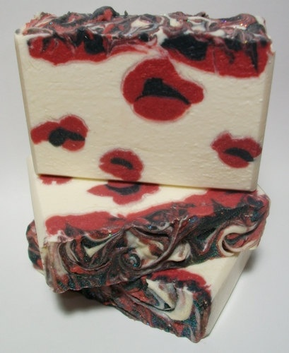 Shea & Cocoa Butter Silk Soap  Black by MountainScentament on Etsy, $5.00