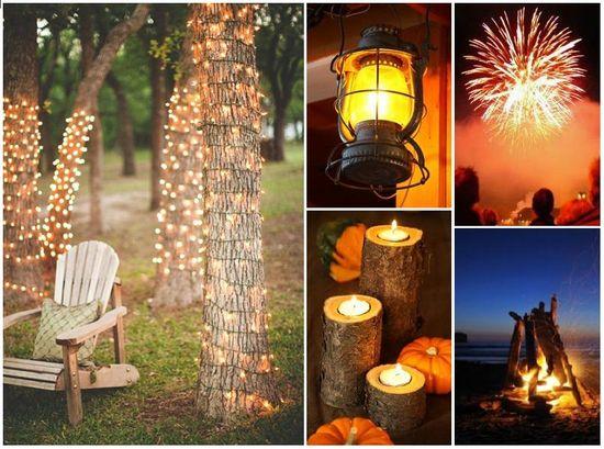 Cozy outdoor winter party ideas