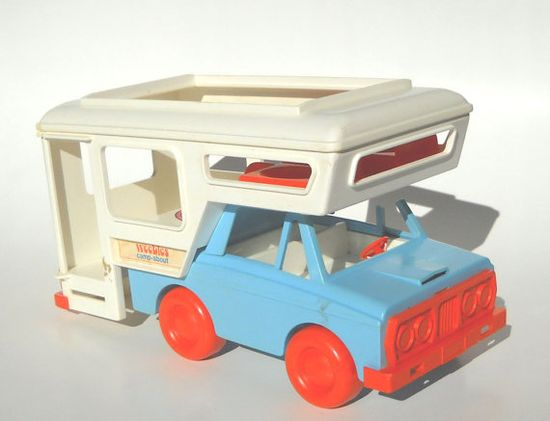 Weebles Camper. I had hours of fun with this. My favorite toy!