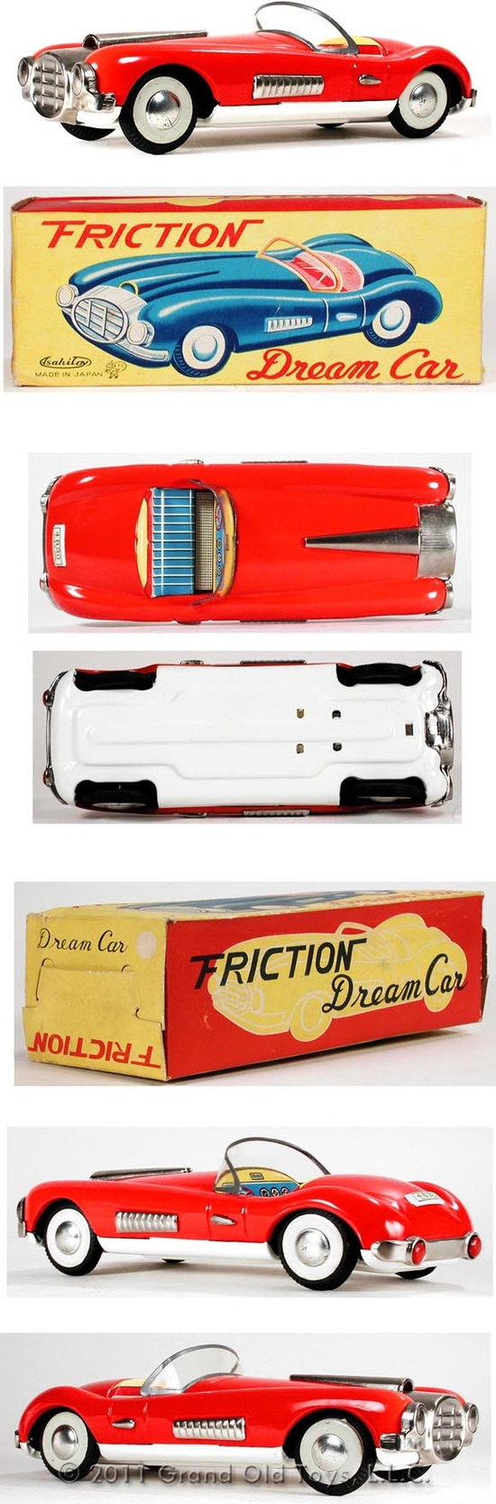 c.1960 Asahi Toy, Cunningham Dream Car In Original Box