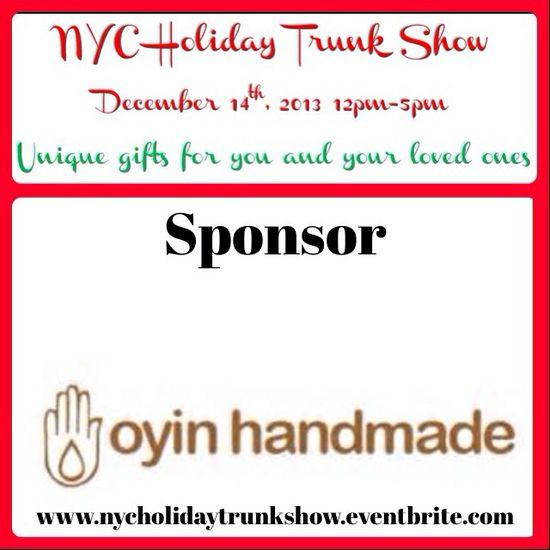Oyin Handmade sponsor