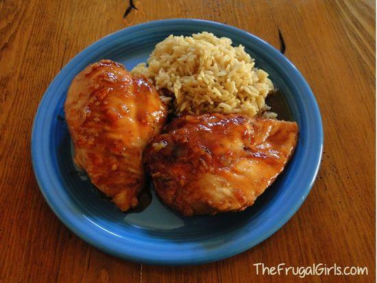 Orange Chicken Crockpot Recipe
