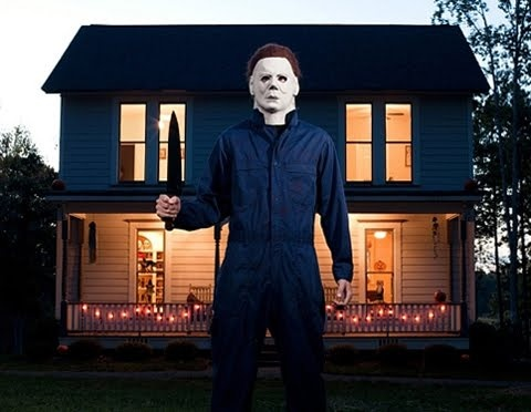 Life Size Replica of Michael Myers' house from Halloween...i havent watched any of the halloween movies this year.