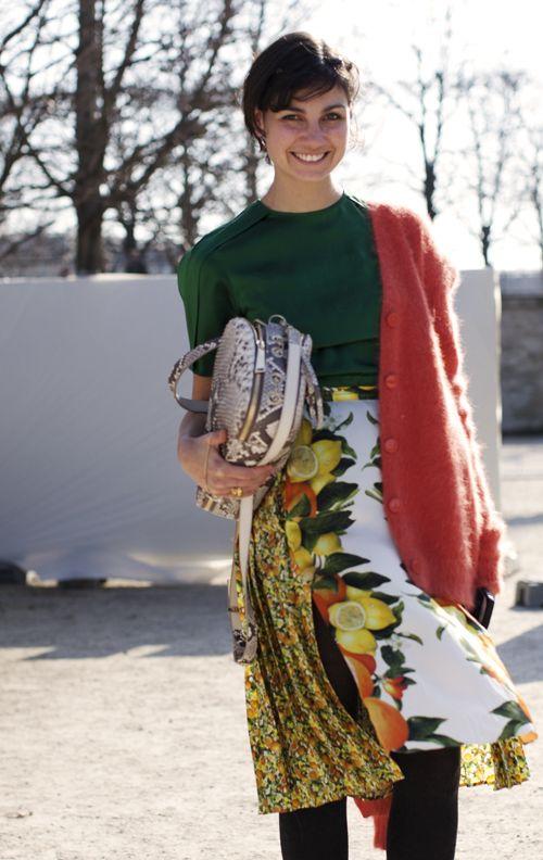On the Street…Eva, Paris « The Sartorialist
