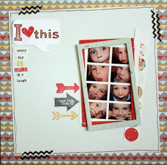 I heart this - Scrapbook.com