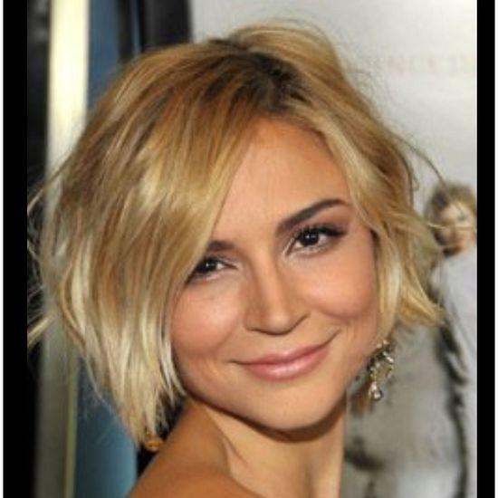 Sexy short hair