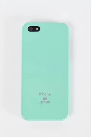 Jelly iPhone 5 Case - Mint