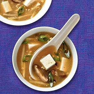 Hot and Sour Soup with Tofu Recipe