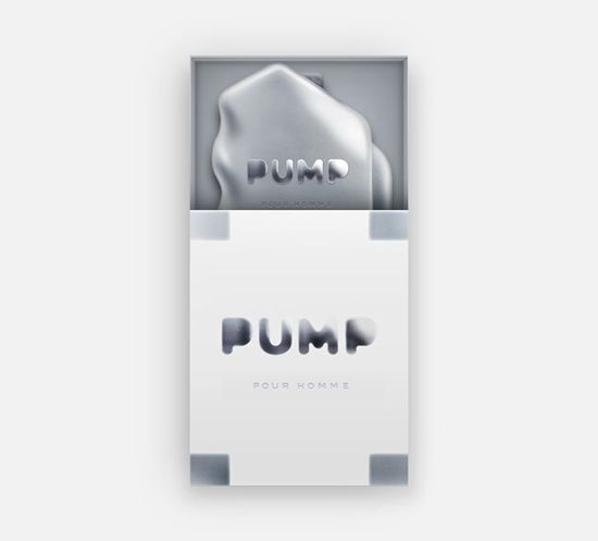PUMP - Combining a daily routine of putting on perfume with some useful physical exercise