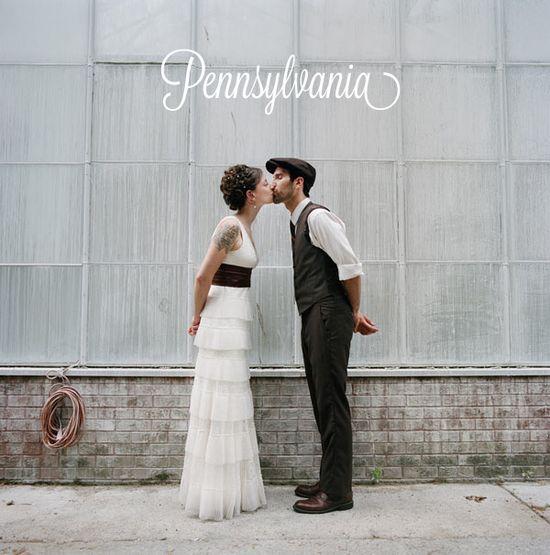 Local Wedding Guide: Pennsylvania // photo by Love Me Do