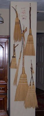 The hand made broom collection