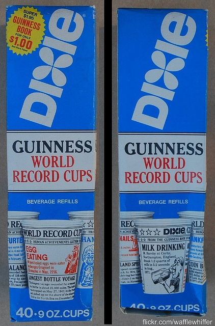 Dixie Guinness World Record Cups