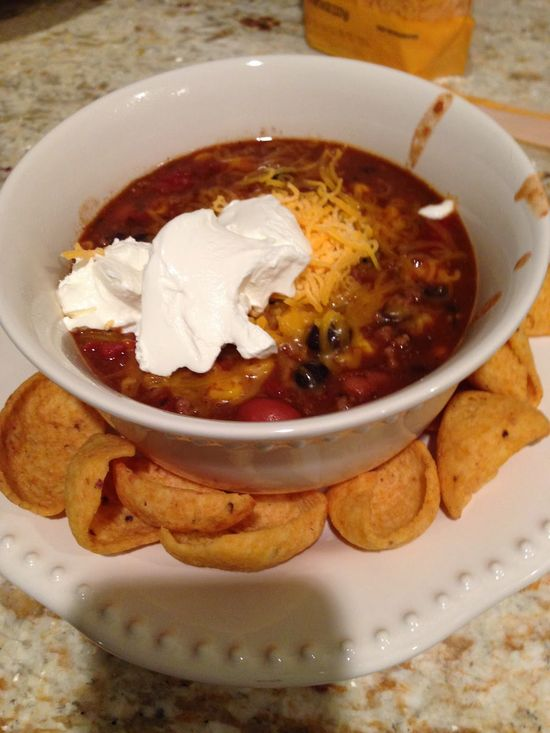 Easy taco soup recipe. Great food for chilly Fall & Winter nights!