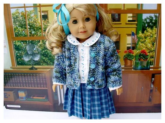 American Girl Doll 18 Inch Classic 1950s School Set.via Etsy.