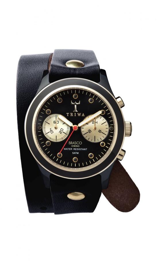 Ebony Twist Watch. by Plümo Ltd