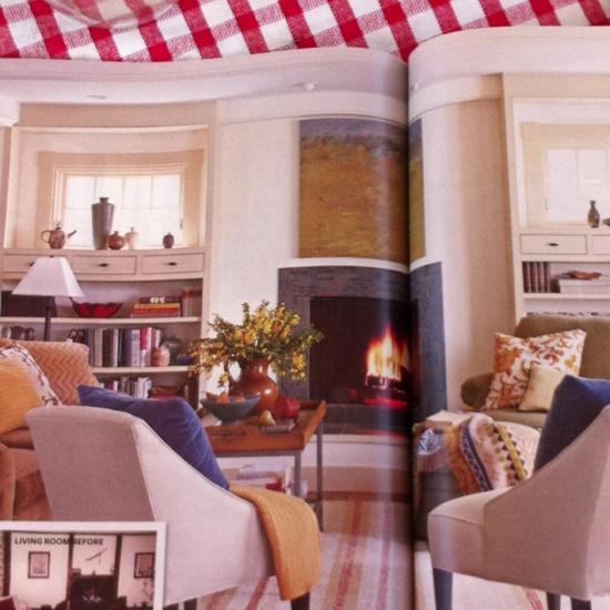 Windows and furniture arrangement