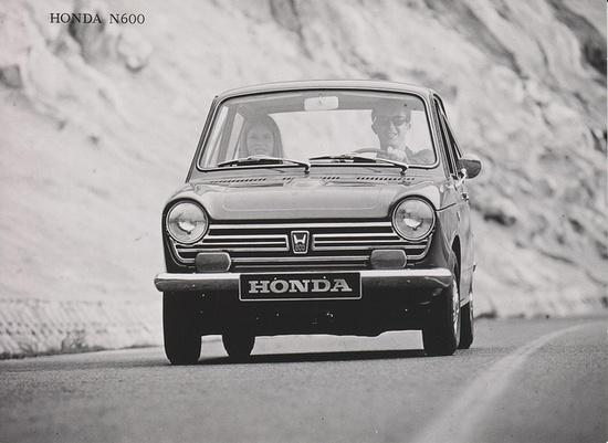 Honda N600 1967 by Michiel V, via Flickr