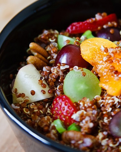 quinoa and fruit salad