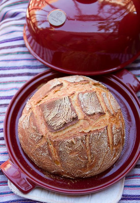 Fall Baking Recipe: Rustic White Bread from a Bread Cloche Recipes from The Kitchn