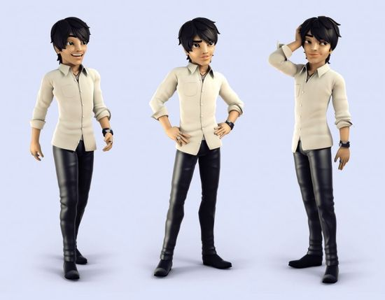 25 Creative 3D Cartoon Character Designs