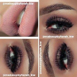 romantic #lips #eyes #makeup