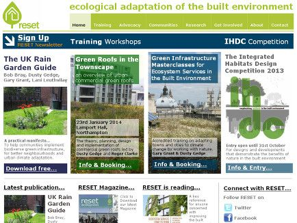 RESET: ecological adaptation of the built environment