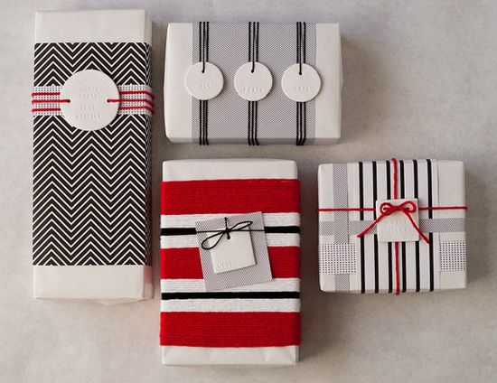 Holiday gift wrap.
