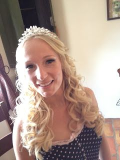 Wedding Hair styling by Fordham Hair Design Gloucestershire  ... Wedding Hair Styling Blog Catch up!