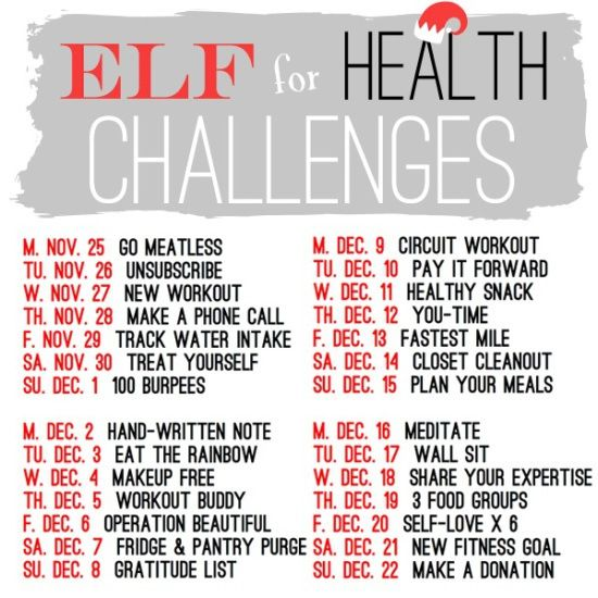 elf4health tips from @Olive To Run