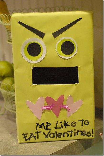 school valentine box.