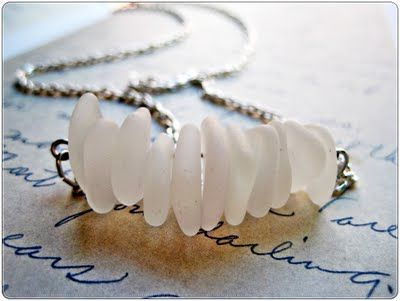 How To - Washed Ashore Necklace #crafts #DIY