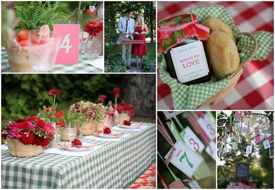 Picnic Wedding Ideas.