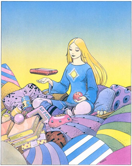 Moebius #comics #ill