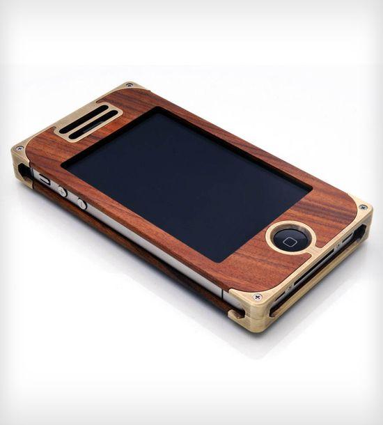 Brass & Ebony iPhone Case