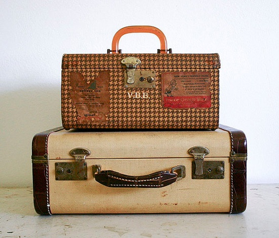 travel in vintage style