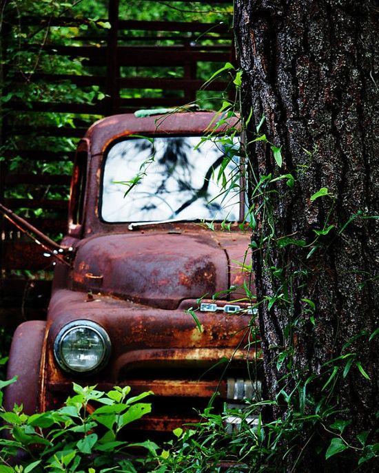rusty old #Motorbike