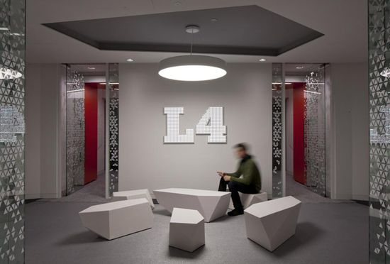Google Headquarters by Penson, London office design