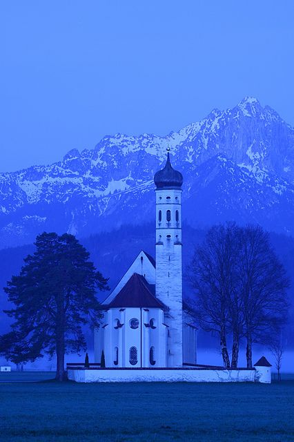 St. Coloman, Bavaria, Germany, photo by Ionut Iordache.