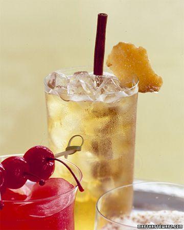 Apple-Ginger Sparklers - Martha Stewart Recipes