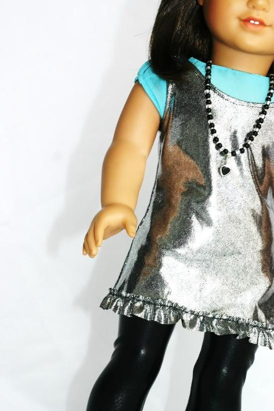 Free Pattern for American Girl Doll - Liberty Jane Shiny Happy Dress