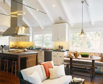 Modern Farmhouse Kitchen Area