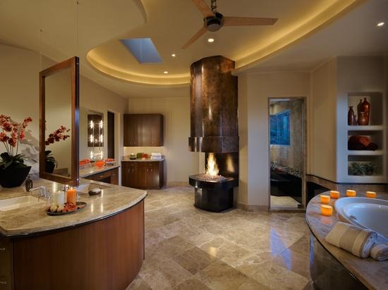 Janet Brooks Design ~ modern bathroom design