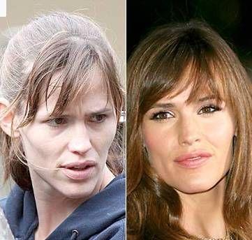 Celebrities Without Makeup Jennifer Garner